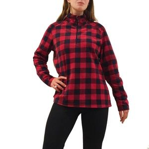 Red Buffalo Plaid Fleece Pullover
